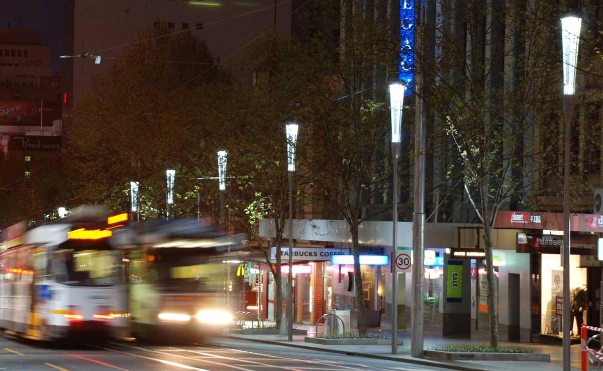 Swanston Street Melbourne