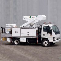 Nift Lift 13m Truck Mounted Cherry Picker