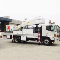 Nift Lift 14m Truck Mounted Cherry Picker