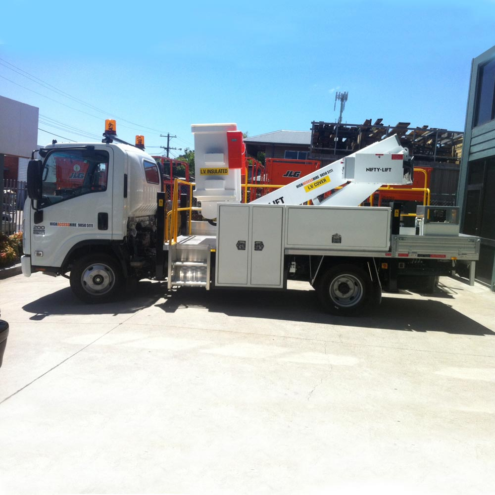 Nifty Lift 8m Self Drive Cherry Picker