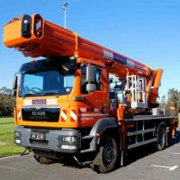 Ruthmann 40m Truck Mounted Cherry Picker