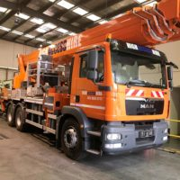 Ruthmann 51m Truck Mounted Cherry Picker