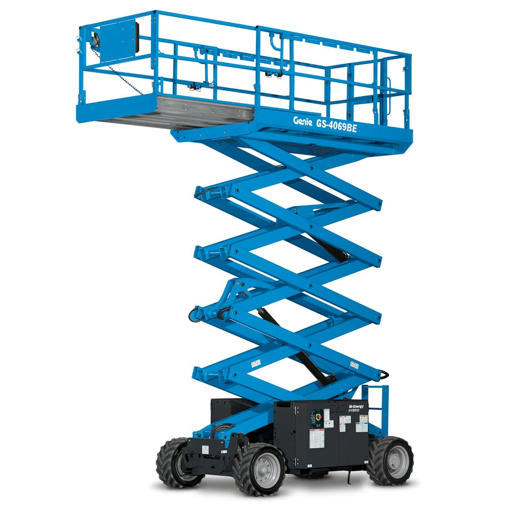 Genie 26 Foot Rough Terrain Scissor Lift
