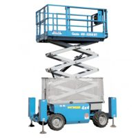 Genie 32 Foot Rough Terrain Scissor Lift 3268