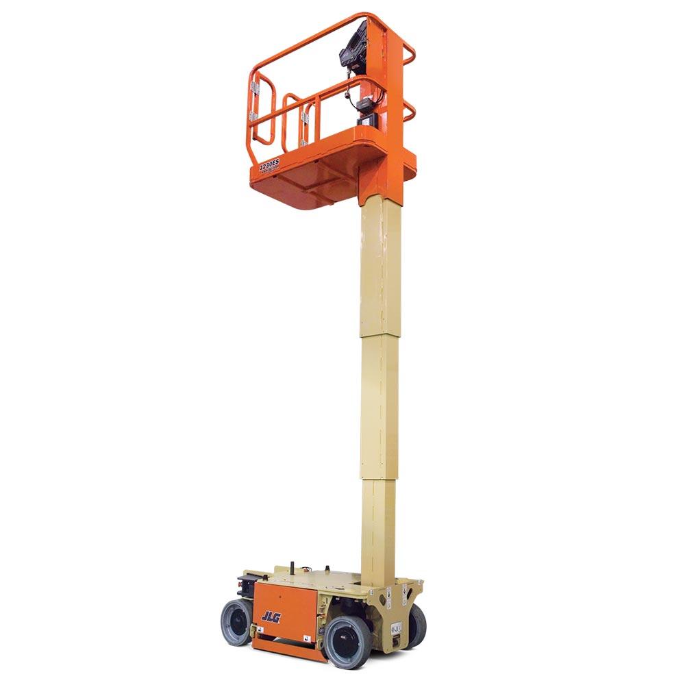 JLG 12 Foot Mast Lift