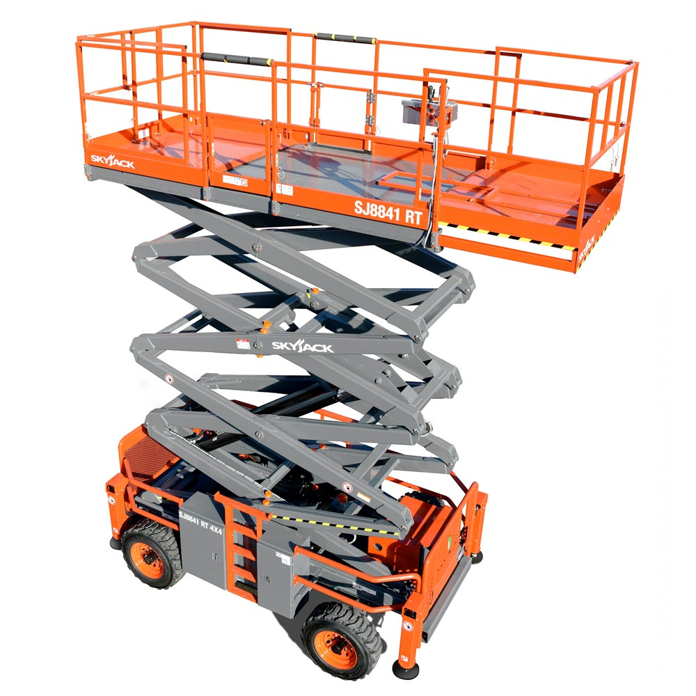 Skyjack 41 Foot Rough Terrain Scissor Lift