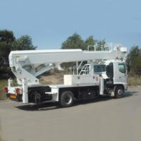 Aichi 27m Truck Mounted EWP Cherry Picker
